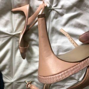 32b57cb1ecc Nine West Shoes - Nine West Jazz nude blush strappy heel